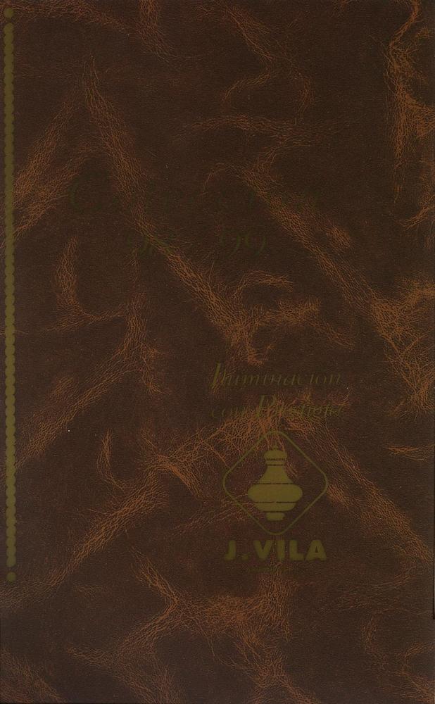 J. Vila Catalogue 1998 1999 page 0001 - Catálogos