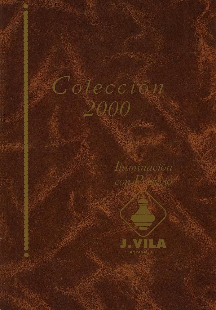 J. Vila Catalogue 2000 page 0001 - Catálogos