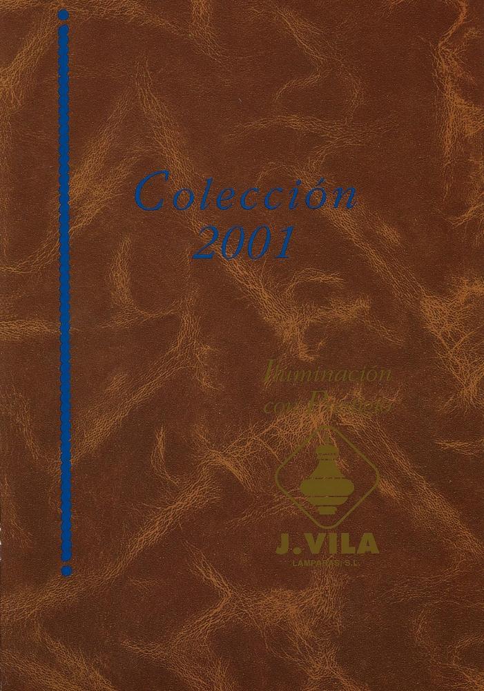 J. Vila Catalogue 2001 page 0001 - Catálogos